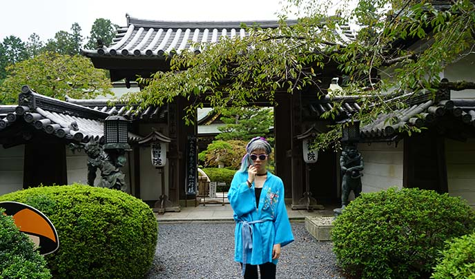 zen temple stay overnight