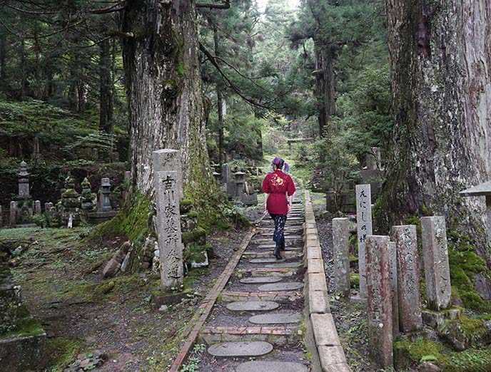 hiking japan mountains