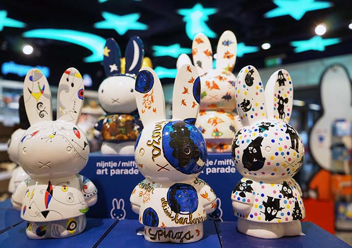 miffy art parade figurines collectables
