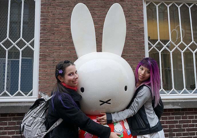 miffy giant statue museum utrecht