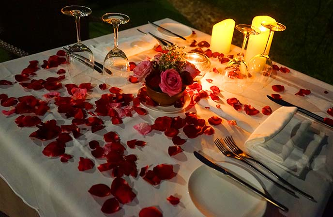 romantic outdoor restaurant yangon