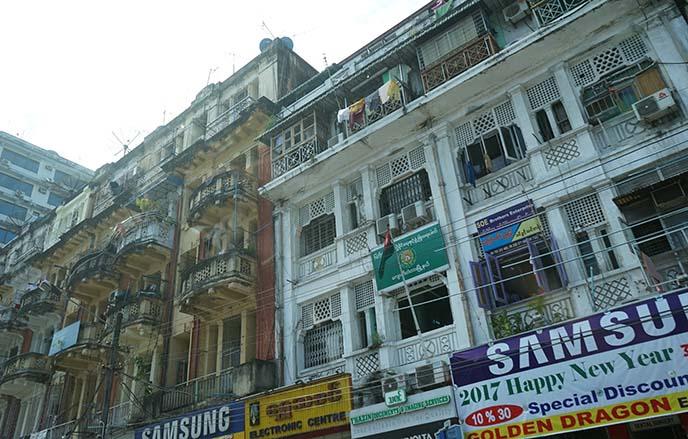 samsung myanmar electronics street
