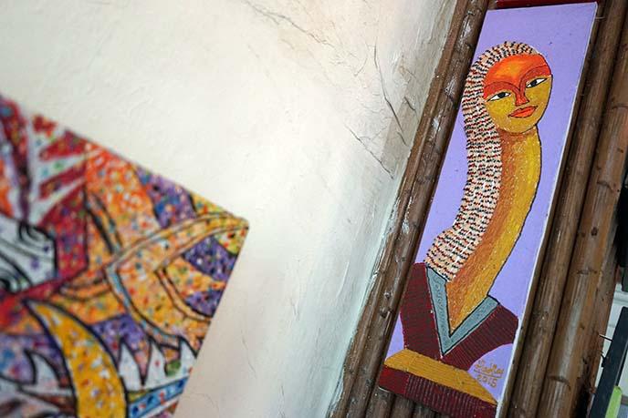 traditional burma paintings