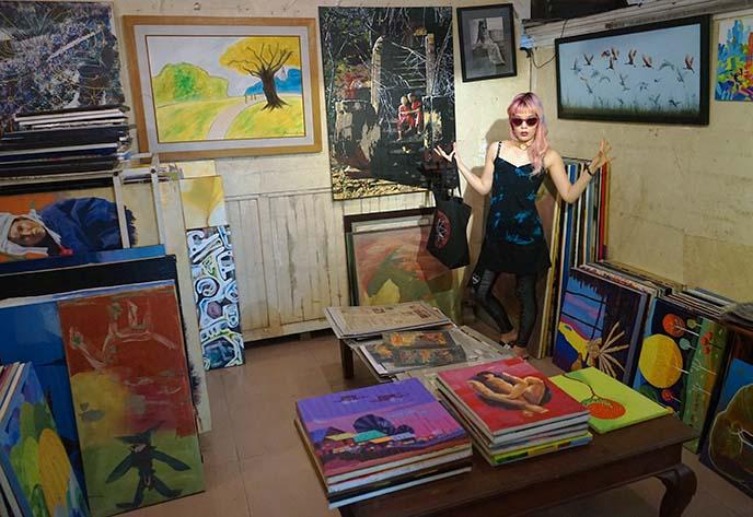 yangon art exhibit, gallery