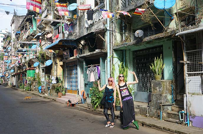 yangon young travel, female tourism