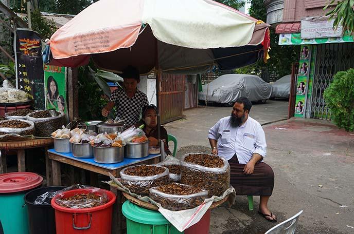 rangoon burma market vendors