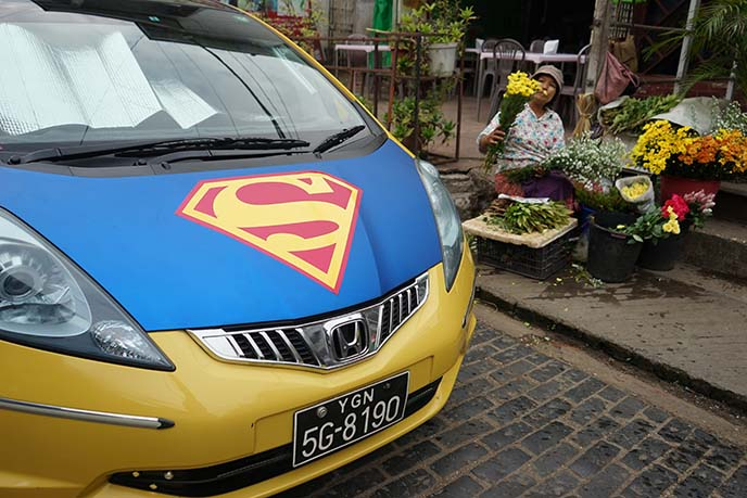 superman car decal customization