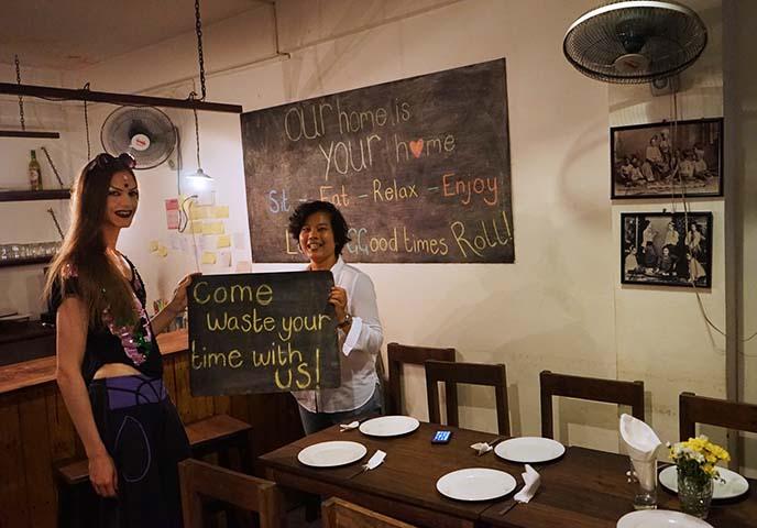best hippest restaurants yangon