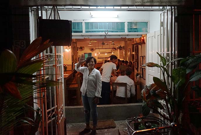 yangon cool cafes restaurants