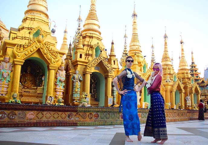 Shwedagon pagoda gold temple