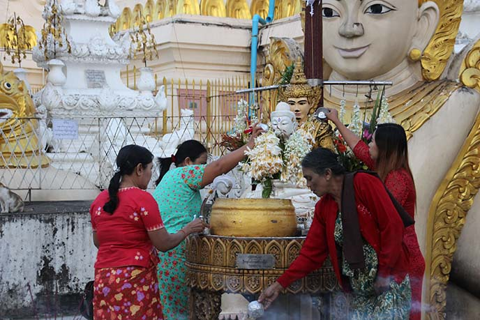burmese water purification ritual