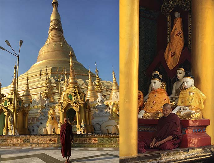 red robe monks burma