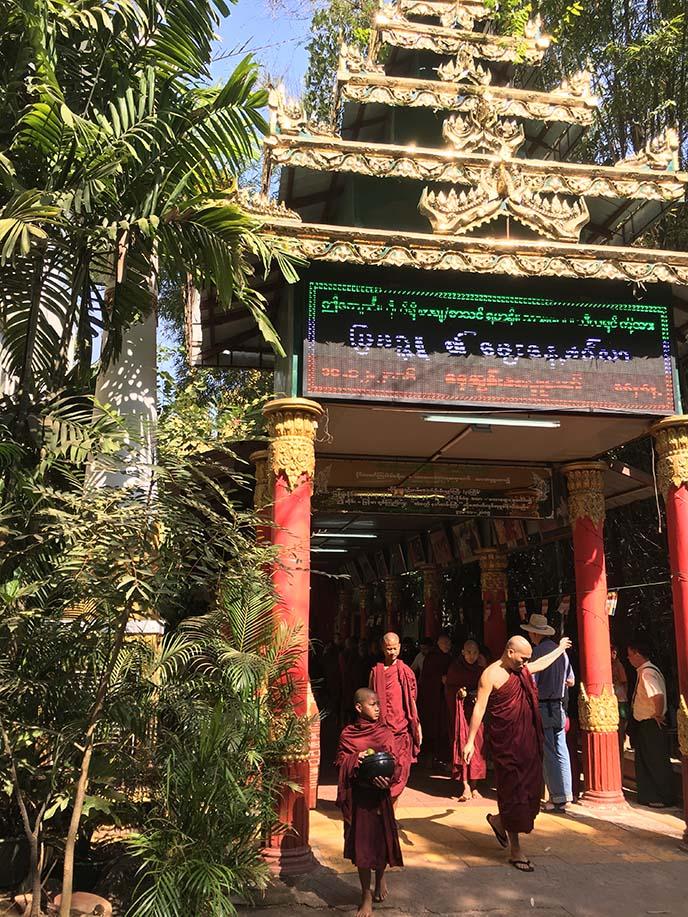 Kalaywa Monastery yangon myanmar