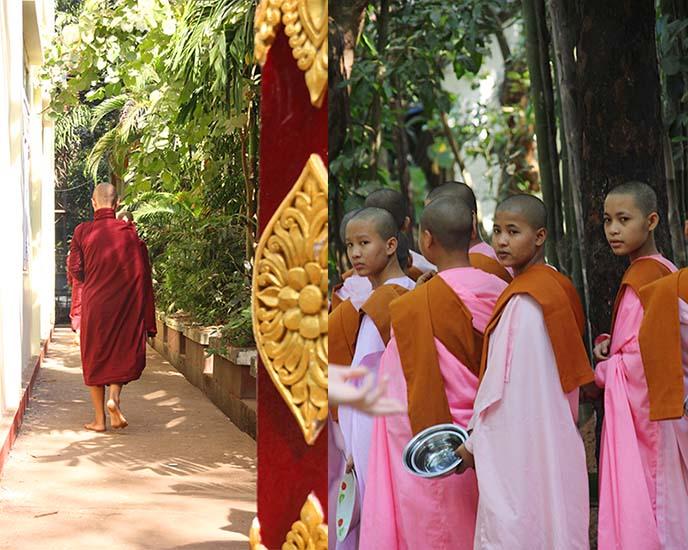 kalaywa buddhism Convent monastery