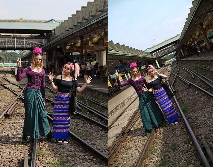 myanmar train lines