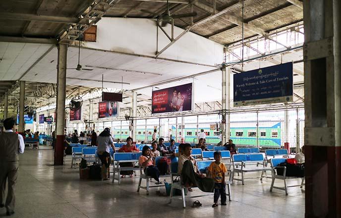 rangoon burma public transit