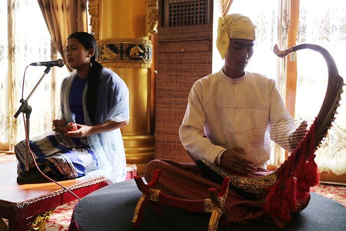 burmese culture show concert rangoon