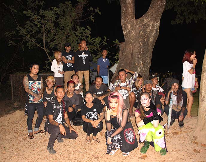 burmese punk rockers, punks burma