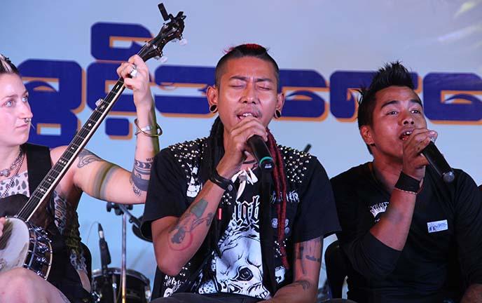 human rights day yangon concert