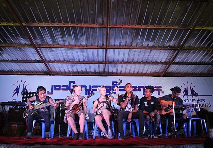 rebel riot punks myanmar band