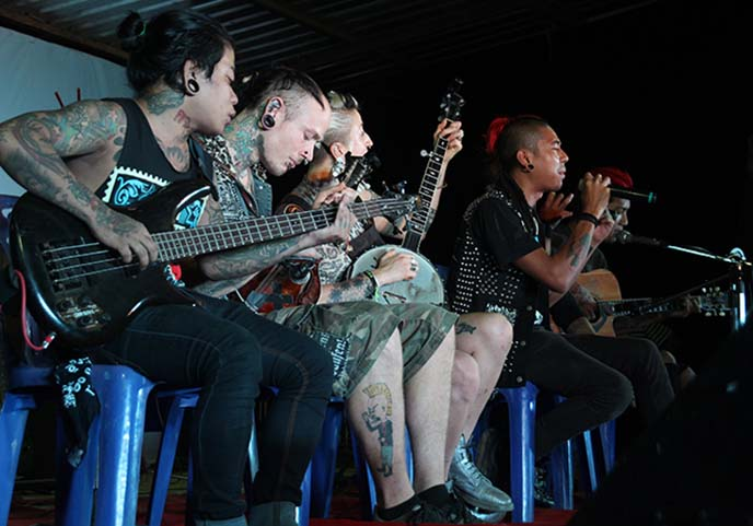 burma punk rockers, rebel riot