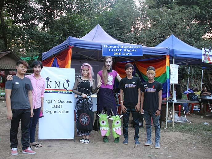 gay rights pride yangon festival