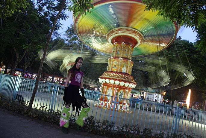 yangon burma amusement park rides