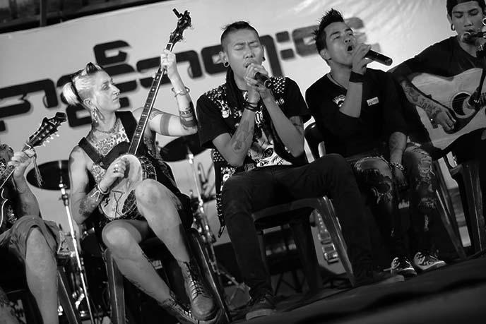 rangoon punk bands performance