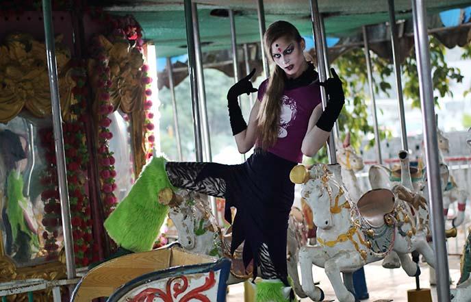creepy carousel merry go round