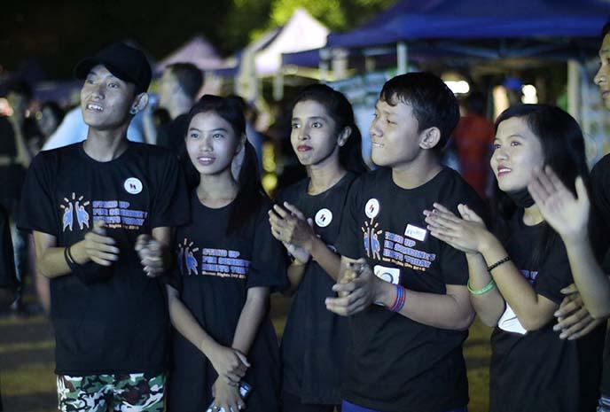 young burmese millennials