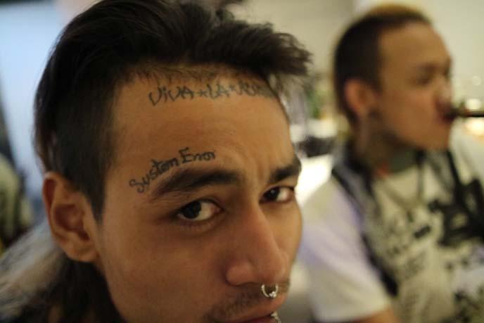 burma tattoos