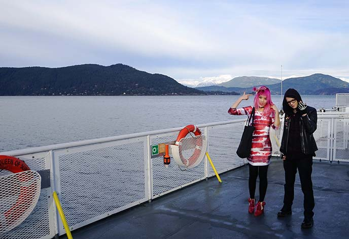 bc ferries sailing trip, day trips