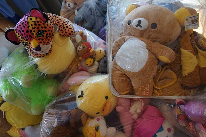 rilakkuma stuffed toys, kawaii