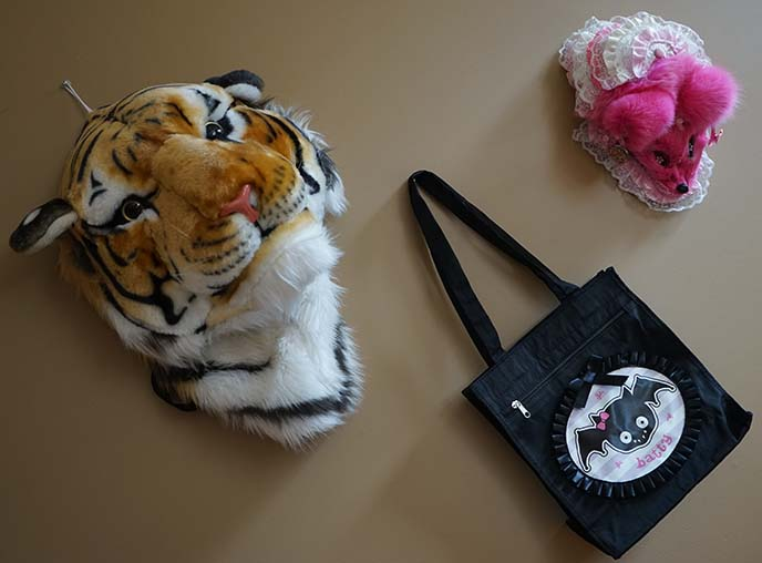 big plush tiger head