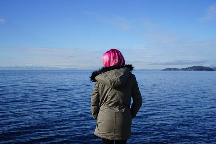 la carmina pink hair