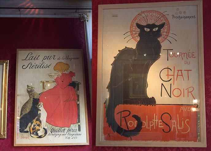 toulouse-lautrec cat ads