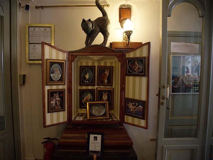 cat cabinet art museum