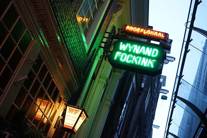 wynand fockink dutch tavern
