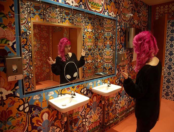 moroccan middle eastern bathroom tiles