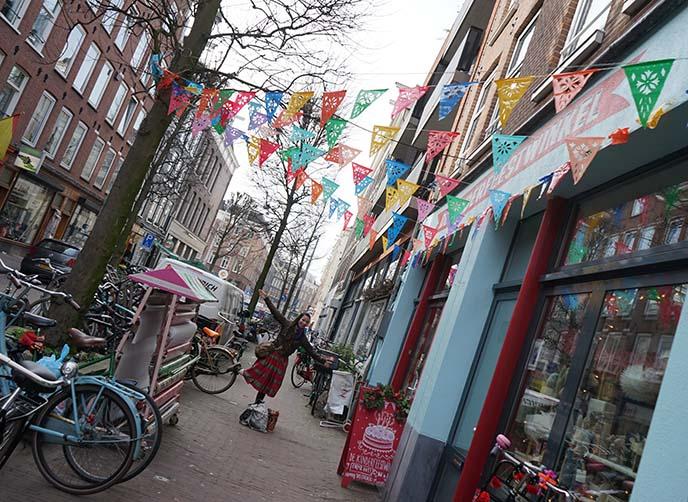 hipster neighborhood amsterdam netherlands