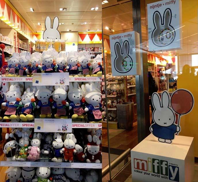miffy souvenir shop schiphol airport