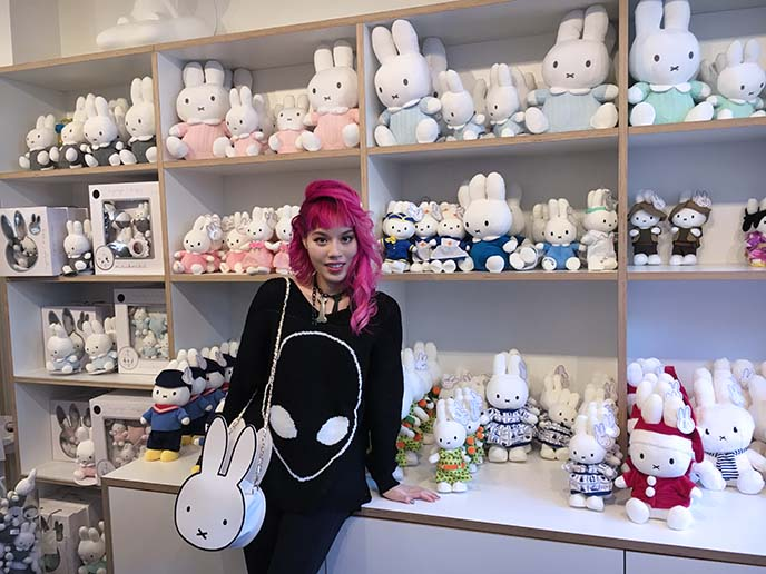 miffy toy shop, stuffed toys