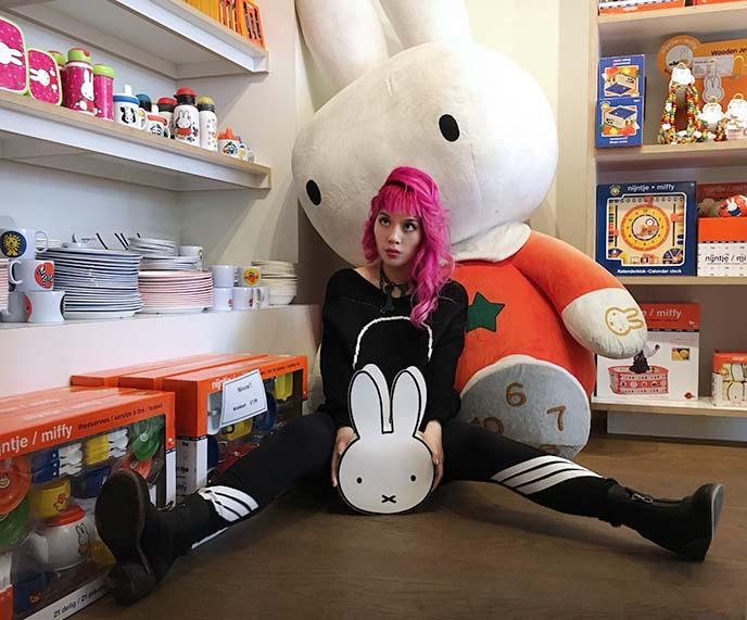 miffy bunny store amsterdam