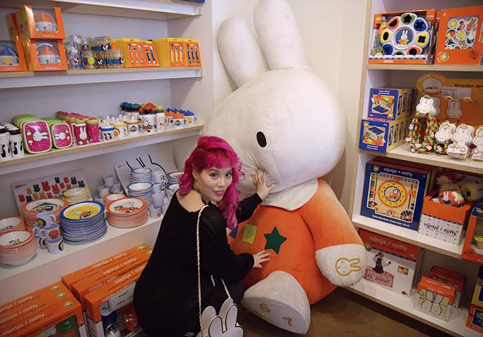 big miffy plush toy rabbit