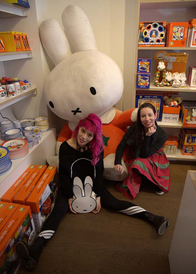 miffy purse, nijntje shop amsterdam