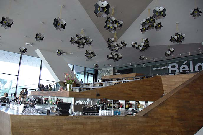 interior eye film museum cafe