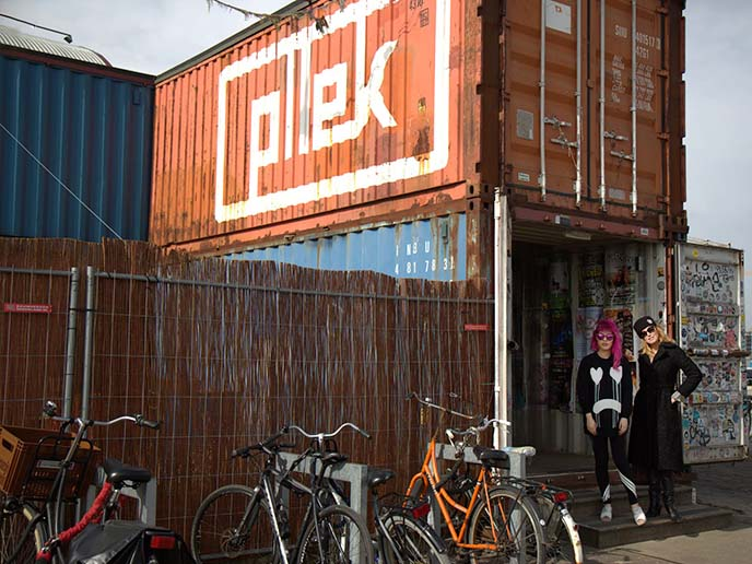 pllek shipping containers restaurant