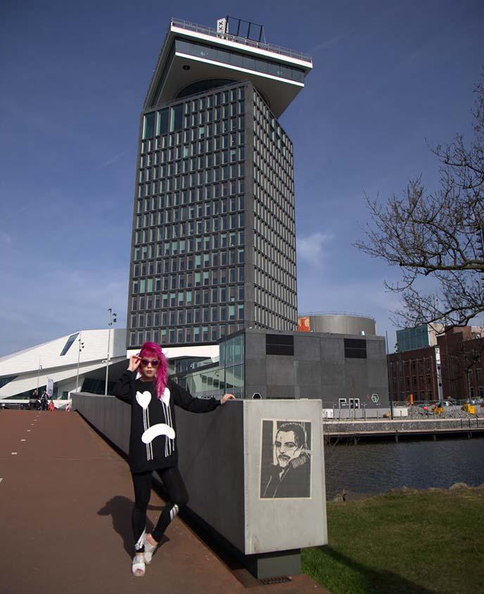 a'dam skyscraper architecture amsterdam