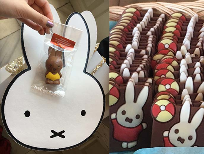 miffy dutch chocolate shop