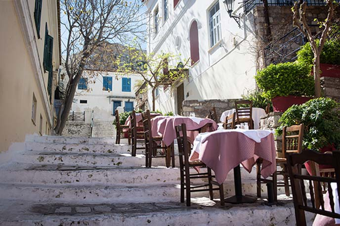 athens greece outdoor cafes
